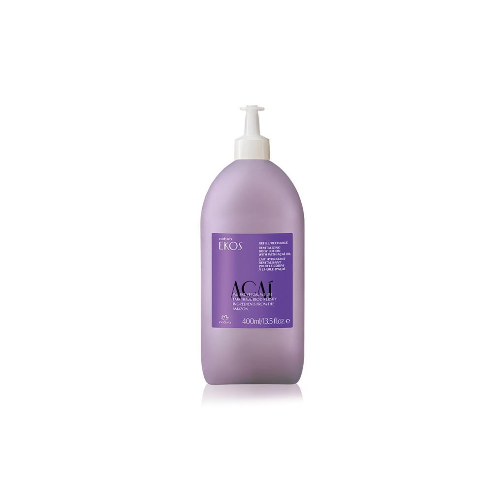 ECO-REFILL ACAI BODY LOTION - EKOS - 400ML