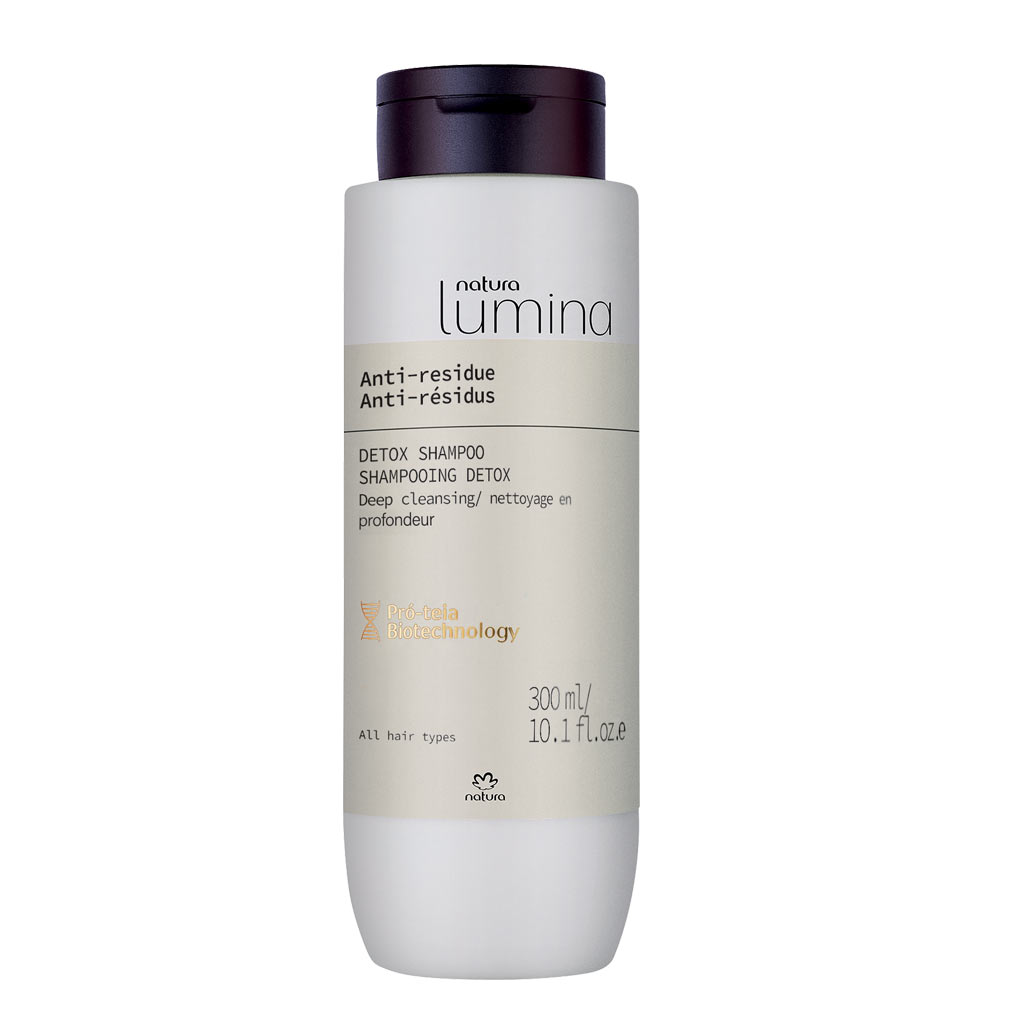 SHAMPOOING DETOX ANTI-RESIDUS - LUMINA - 300ML