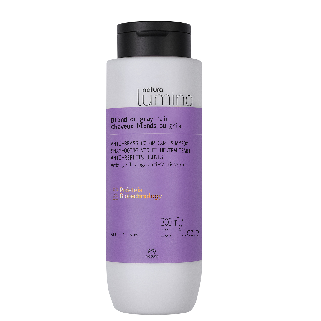 BLOND AND GREY HAIR SHAMPOO - LUMINA - 300ML