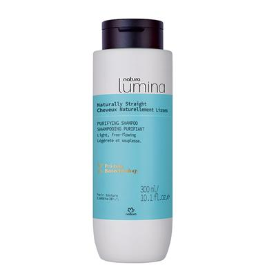 STRAIGHT HAIR PURIFYING SHAMPOO - LUMINA - 300ML