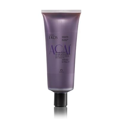 EXFOLIATING AÇAÍ SHOWER GEL - EKOS - 200ML