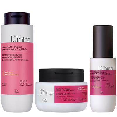 CHEMICALLY DAMAGED HAIR ROUTINE - EXTREME REPAIR